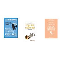 Combo 3 cuốn sách: Giáo Dục Và Ý Nghĩa Cuộc Sống + Ván cờ cuộc đời + Những quy tắc để con có cuộc sống hạnh phúc