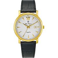 Đồng hồ nam dây da Olym Pianus OP130-07MK-GL trắng