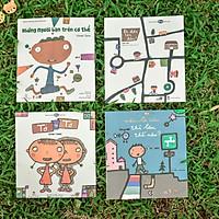Combo 4 cuốn Ehon - Sáng tạo cùng Gomi Taro