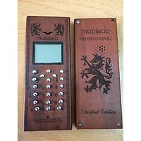 Vỏ gỗ cho điện thoại Nokia 1280 mẫu Mobiado