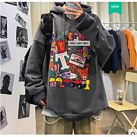 Áo hoodie vải nỉ in hình siêu phong cách thời thượng big 75kg (HD-P-2021)