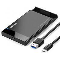Hộp đựng ổ cứng SATA cổng USB-C 3.1 cao cấp Ugreen 50743 - Hàng chính hãng