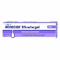 Kem ngăn ngừa mụn Acnecide 5% W/W Gel Benzoyl Peroxide 5% - 30g