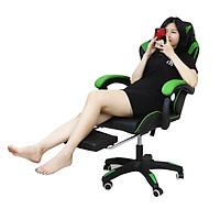 Ghế chơi game, ghế gaming cao cấp G21, có để chân và massage