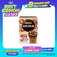 [Chỉ giao HN] [PHIÊN BẢN MỚI] Cà phê sữa Nescafé cà phê sữa đá (Hộp 10 gói x 24 g)