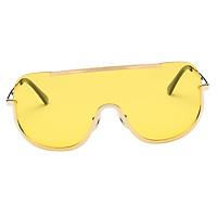 New Retro Women Sunglasses Oversize Metal Half Frame Eyeglasses