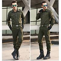 Bộ Quần Áo Nam Kaki Lính Mỹ  Dài Tay Con Ó