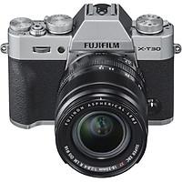 Máy Ảnh FUJIFILM X-T30 + Ống kính kit  XF 18-55 (Silver) - Chính Hãng