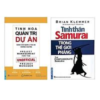 Combo 2 cuốn sách: Tinh Hoa Quản Trị Dự Án + Tinh Thần Samurai Trong Thế Giới Phẳng