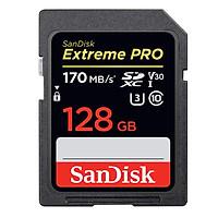 Thẻ Nhớ SDXC SanDisk Extreme Pro U3 V30 1133X 128GB 170MB/s - Hàng Chính Hãng