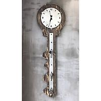 Đồng hồ gỗ và móc chìa khoá_ĐHTT37