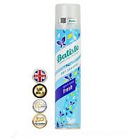 Dầu Gội Khô Batiste Tươi Mát Tức Thì - Batiste Dry Shampoo Light & Breezy Fresh 200ml