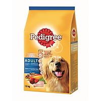 Thức ăn chó Pedigree vị gà & rau củ dạng túi 1.5kg
