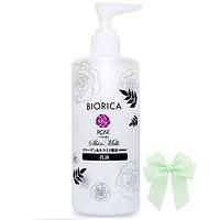 Sữa dưỡng  trắng da Biorica Rose Emulsio Tinh chất hoa hồng Nhật Bản ( 300ml) và nơ