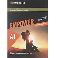 A1 - Empower starter student's book with online accesss