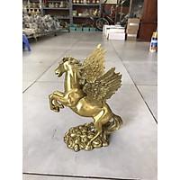 Tượng Ngựa có cánh bằng đồng cao 26cm