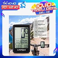 Đồng Hồ Đo Tốc Độ Đạp Xe Không Dây Sạc USB Lixada