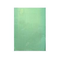 5m Decal dán kính có sẵn keo ô vuông xanh ngọc bích Binbin  DK22 (0.5x5m)