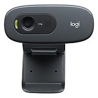 Webcam Logitech C270 gọi video HD 720P màn hình rộng cho hình ảnh sắc nét - Hàng Chính Hãng