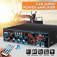 800W bluetooth Stereo Audio Amplifier Car Home HiFi Digital Tuner USB SD FM