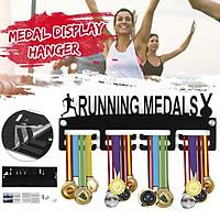 Runner Medals Hanger Display Wall Holder Sport Race Triathlon Running