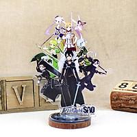 Mô hình standee trưng bày SWORD ART ONLINE Đao Kiếm Thần Vực anime (MẪU GIAO NGẪU NHIÊN)