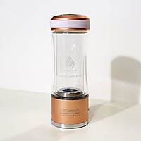 Chai tạo nước Hydrogen WaterSmart Model WS-0804-H2, màu hồng, 320ml