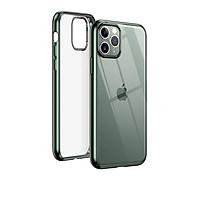 Ốp lưng trong suốt  iPhone 11 Pro viền xanh chống va đập Ugreen 80468LP268 Hàng Chính Hãng