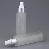 2x Empty Refill Glass Bottle Lotions Serum Pump Dispenser Travel Storage Container Cosmetics Bottles Perfume Atomizer Bottle