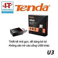 USB Wifi Tenda U3 tốc độ 300Mbps - Hàng Chính Hãng Microsun