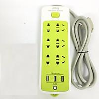 Ổ cắm điện thông minh JPDQ 4000W (6 phích cắm, 3 USB)