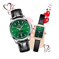 Đồng hồ đôi nam nữ tình yêu valentine PAGINI cao cấp - Qùa tặng valentine cho bạn gái vô cùng ý nghĩa