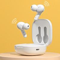 Tai Nghe Không Dây TWS QCY T13 Bluetooth V5.1 Điều Khiển Cảm Ứng 4 Micro Chống Ồn 380mAH Pin Trâu Sạc Nhanh Tai Nghe - Hàng Nhập Khẩu