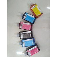 6 chai mực màu dành cho máy in epson 1390