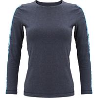 Áo T-shirt Nữ Tay Dài_Yvette LIBBY N'guyen Paris_YVETTE COOL WT1 _Màu Xanh (Navy) _Cotton Mélange hữu cơ (Organic)