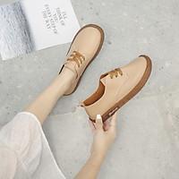 Giày lười bằng da phong cách trẻ trung thanh lịch dành cho nữ