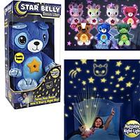 Đèn ngủ nghìn sao gấu bông trang trí phòng ngủ cho bé