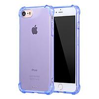 Ốp Lưng Dẻo Chống Sốc Phát Sáng iPhone 6 Plus / 6s Plus Fashion Case (Xanh Trong Suốt) - Hàng Chính Hãng