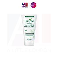Kem chống lão hoá ngày Simple Age Resisting Day Cream SPF15 - 50ml