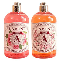 Combo Sữa Tắm L'amont En Provence Cherry Blossom Shower Gel...