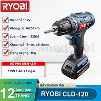 Máy khoan pin 12V Ryobi Kyocera CLD-120