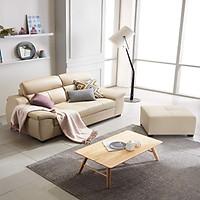 GHẾ SOFA DA THẬT 3 CHỖ NGỒI SF305A - Nội thất Hàn Quốc Dongsuh Furniture
