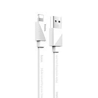 Cáp sạc nhanh 2.4A Hoco chuẩn Lightning U34, cáp dẹt bọc dù siêu bền, dành cho iPhone XS max/iPhone 11/iPhone 11 Pro max - Hàng chính hãng