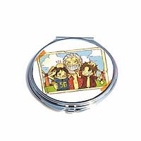 Gương cầm tay IN HÌNH One Piece - Đảo Hải Tặc anime dễ thương
