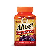 Thực phẩm chức năng Kẹo Dẻo Vitamin Tổng Hợp Alive Multi-Vitamin Gummies, 50 Viên