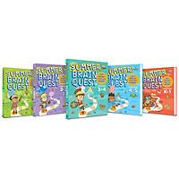 Sách: Summer brain quest - sách tham khảo cấp 1 ( Bộ 5 cuốn )