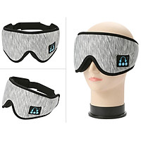 3D Sleep Eye Mask Wireless bluetooth Headset Shade Cover Relax Blindfold