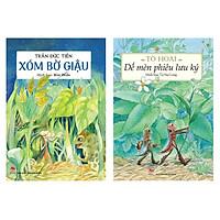 Combo 2 cuốn: Dế Mèn Phiêu Lưu Ký, Xóm Bờ Giậu