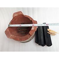 Lò than hoa cải tiến 26cm tặng kèm than không khói