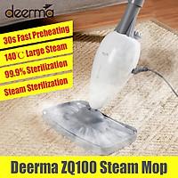 Deerma ZQ100 Steam Mop Handheld Steam Cleaners Floor Sweeping Machine 140℃ High Temperature Sterilization 30s Fast